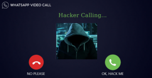hacker video calling whatsapp security