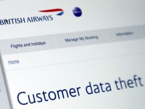 british airlines security breach