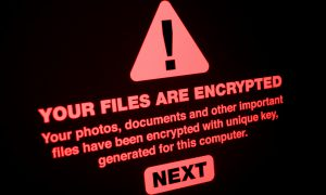 ransomware attack threat cybersecurity online internet security