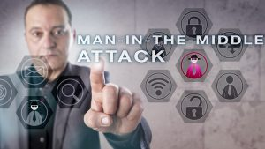 man in the middle attack fraud cybersecurity