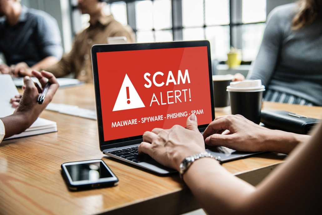 email spam junk hacker robocall robocalls tech support scam alert security awareness phish prevention training education psychology hacker cybersecurity