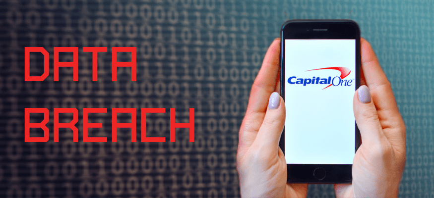 Capital One's data breach bank fraud protect with cybersecurity awareness and phish simulation training