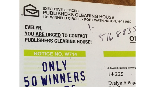 Sweepstakes Scam: Publishers Clearing House Scam - Prilock, Inc