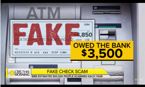 Fake Check Scam