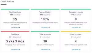 credit karma score security