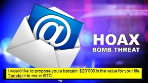 Bomb Threat Hoax email cybersecurity