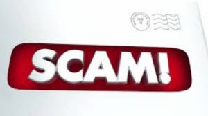 snail mail scam security