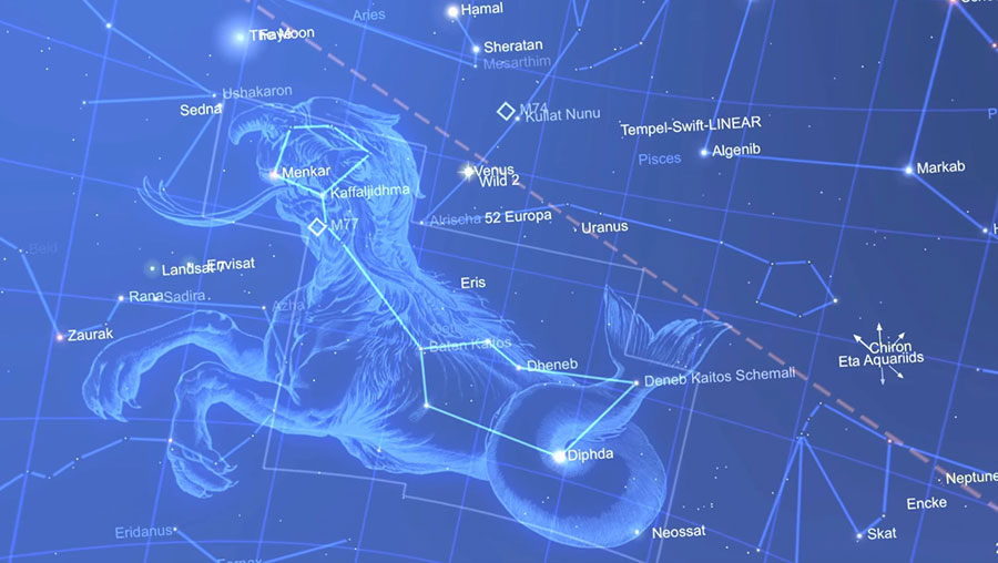 star chart app constellation planet stars