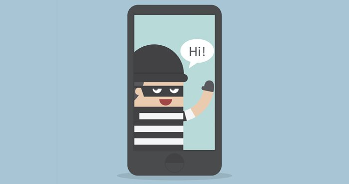 hacker theft smartphone data privacy phish security awareness training cybersecurity secure files news iot